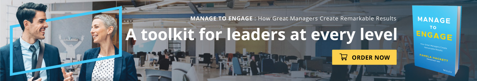 Manage to Engage | Business Book by Proudfoot CEO