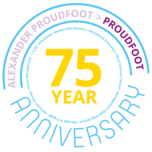 Proudfoot 75 Years Anniversary | Global Management Consulting