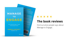 Manage to Engage: Book Reviews from the Audience