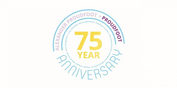 Proudfoot 75 Years Anniversary   Global Management Consulting